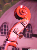 photo abstraction: acoustic double bass machinehead