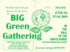 Advertising flyer for the 1994 festival