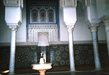 photo of the interior of the green mosque in Meknes